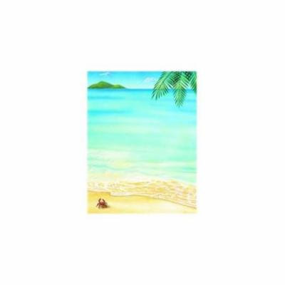 Great Papers 972430 Tropical Letterhead - 80 Sheets/Pack