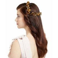 Jennifer Behr Rosabel Rose Hair Coronet, Gold