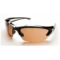 Edge Eyewear Khor Safety Glasses with Copper Blue Blocker Lens