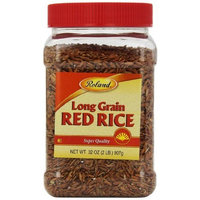 Roland Long Grain Red Rice, 32-Ounce Jars (Pack of 4)