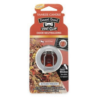 Yankee Candle Smart Scent(tm) Vent Clip Autumn Wreath 0.13 Ounce, Brown