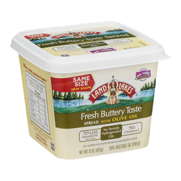 Land O'Lakes Fresh Buttery Taste Spread with Olive Oil