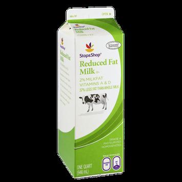 Stop & Shop Reduced Fat 2% Milk