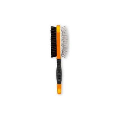 Hartz Deluxe Nylon Living Combo Brush for Dog