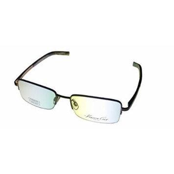 Kenneth Cole New York Mens Black Rimless Rectangle Metal Eyewear Frame KC107 776