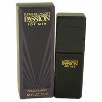 Passion for Men by Elizabeth Taylor Cologne Spray .85 oz
