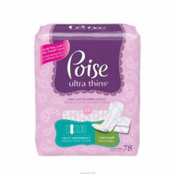 Poise Ultra Thin Long Pads
