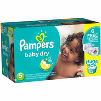 Pampers Baby Dry Diapers, Size 5 (Choose Diaper Count)