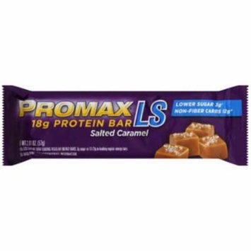 Promax LS salted Caramel Protein Bar, 2.01 oz., (Pack of 12)