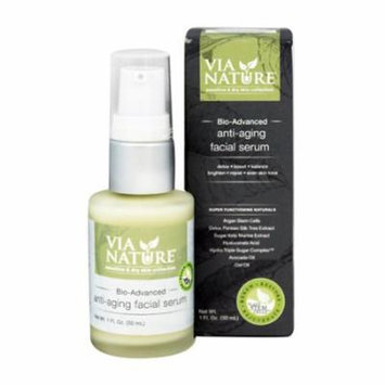 Via nature Facial Serum, 1 oz