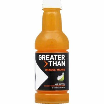 Greater Than Sports Drink, Coconut Water, Orange-Mango