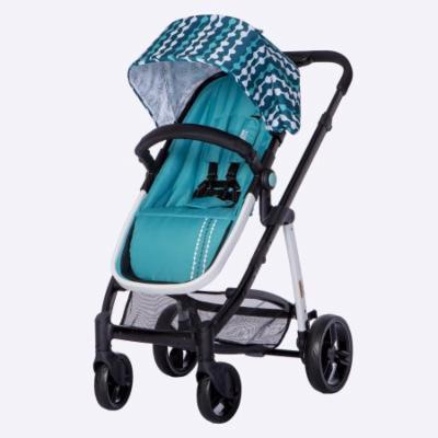 Mia Moda Marisa Three-In-One Stroller-Color:Aqua