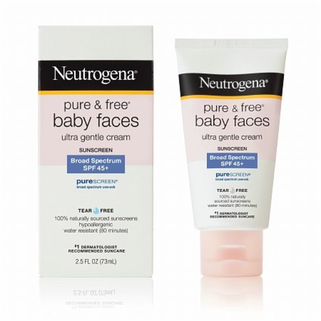 Neutrogena Pure and Free Baby Faces SPF 50+