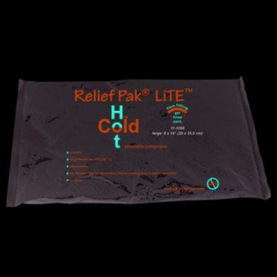 Relief Pak Lite reusable hot/cold pack, 8 x 14