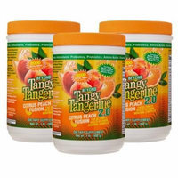 Beyond Tangy Tangerine 2.0 Citrus Peach Infusion Canister 3-Pack