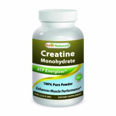 Best Naturals Creatine Monohydrate 4 OZ Pure Powder