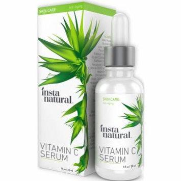 InstaNatural Vitamin C Serum with Hyaluronic Acid & Vit E - Natural & Organic Anti Wrinkle Eraser Formula for Face - Da