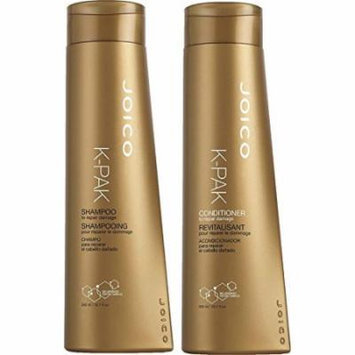 Joico K-Pak Shampoo and Conditioner KIT for Repair Damage, Shampoo - 10.1 Oz, Conditioner - 10.1 Oz