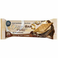 Quest Bar S'Mores Protein Bar, 2.12 oz., (Pack of 12)