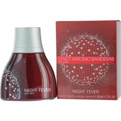 Antonio Banderas Spirit Night Fever Eau De Toilette Spray for Men, 1.7 Ounce
