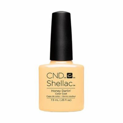 CND Shellac Nail Polish - Honey Darlin