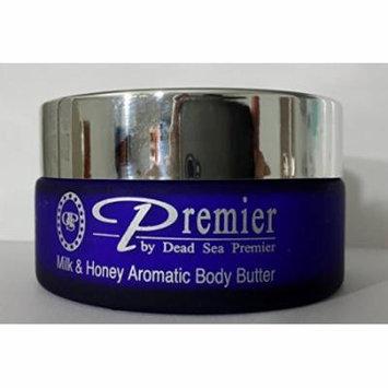 Premier Dead Sea Aromatic Body Butter- Milk and Honey, 175ml