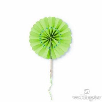Weddingstar 43010-03 Paper Wheel Fan - Green