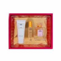 Paris Mademoiselle Perfume for Women 3 Piece Set; Perfume 3.4 Fl. 0z, Mini Perfume .07 Fl. Oz. And Moisturizing Lotion