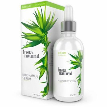 InstaNatural Niacinamide 5% Face Serum - Vitamin B3 Anti Aging Moisturizer for Skin - Diminishes Appearance of Acne, Bre