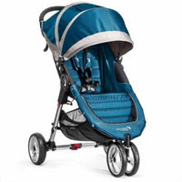 Baby Jogger City Mini Single Stroller, Teal/Gray