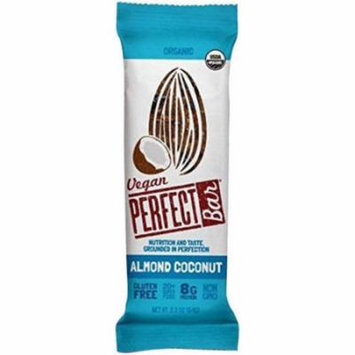 Perfect Foods Vegan Organic Almond Coconut Bar, 2.3 oz., (Pack of 20)