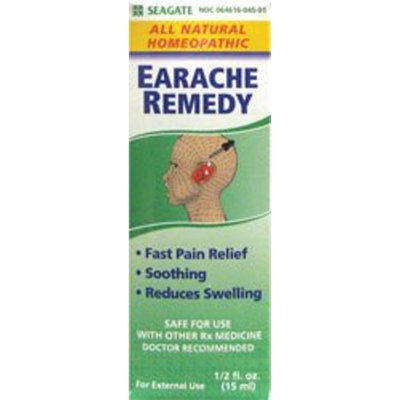 Seagate Products Homeopathic Olive Leaf Extract Earache Remedy 0.5 Oz, 1-Pack