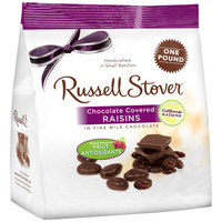 Russell Stover Chocolate Covered Raisins, 1 lb
