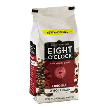 Eight O'Clock Coffee Original Whole Bean