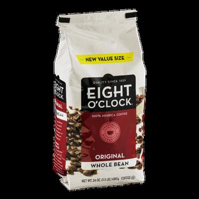 Eight O'Clock Coffee Original Whole Bean