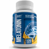 Just Potent High Grade Melatonin Supplement :: 10mg Tablets :: 120 Tablets :: Better Sleep :: Brain Health :: Non-Habit Forming