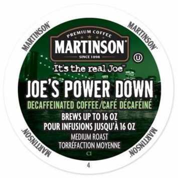 Martinson Coffee Power Down Decaf, RealCup portion pack for Keurig K-Cup Brewers, 24 Count