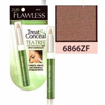 Zuri Flawless Treat & Conceal Tea Tree Skin Treatment & Concealer - Bronze