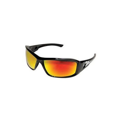 Wolf Peak International Edge XBAP119 Wolf Peak Brazeau Safety/SunGlasses, Black/Aqua Precision Red Lens