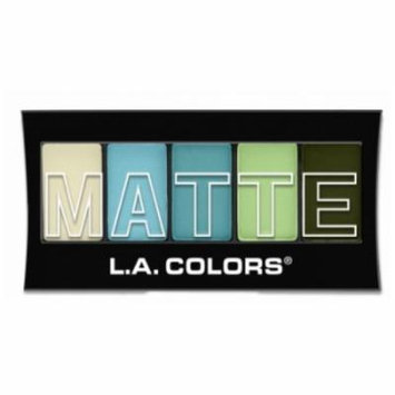 (6 Pack) L.A. Colors Matte Eyeshadow - Teal Argle