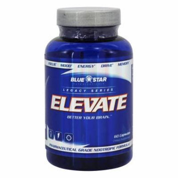 Blue Star Nutraceuticals - Elevate Pharmaceutical Grade Nootropic Formula - 60 Capsules