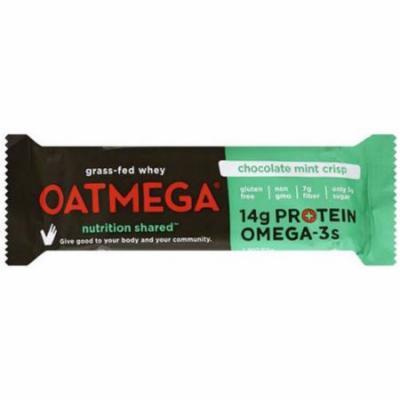 Oatmega Chocolate Mint Crisp Bar, 50g (Pack of 12)