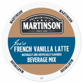 Martinson Cappuccino/Latte French Vanilla Latte, RealCup Portion Pack For Keurig Brewers, 72 Count
