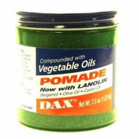 Dax Pomade (Bergamot) 7.5 oz. Jar (3-Pack) with Free Nail File