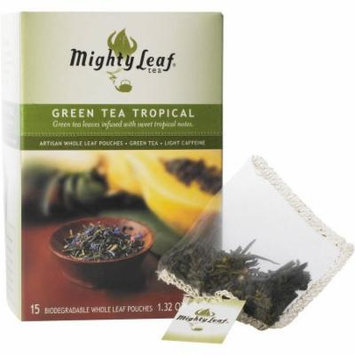 Mighty Leaf Tea Green Tea Tropical, 15 count, 1.32 oz