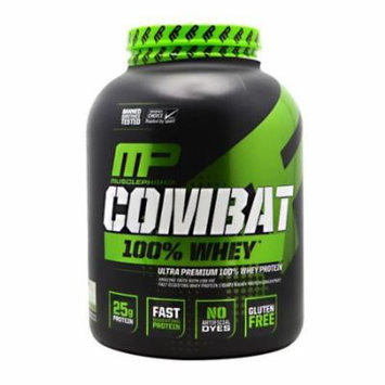 MusclePharm Combat 100% Whey Protein Powder, Cappuccino, 5 Pounds