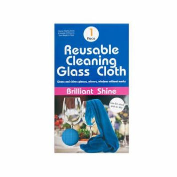 Bulk Buys Reusable Microfiber Glass Cleaning Cloth, Case of 12