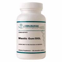 Complementary Prescriptions Mastic Gum/DGL 60 chew wafers