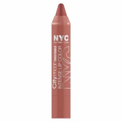 (6 Pack) NYC City Proof Twistable Intense Lip Color - Brooklyn Brown Stone