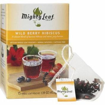 Mighty Leaf Tea Wild Berry Hibiscus Tea, 15 count, 1.59 oz